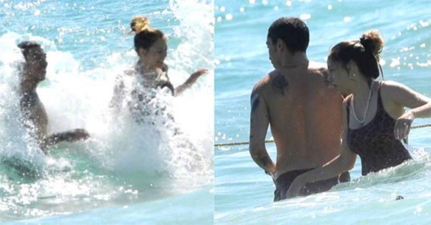 Öykü Karayel ve Can Bonomo çifti Çeşme'de aşk dolu tatil yapıyor!