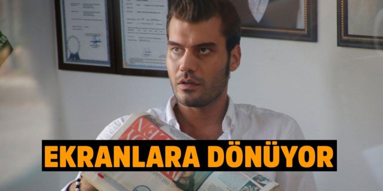 Özgürcan Çevik ekranlara dönüyor! Özgürcan Çevik Çember dizisinde!