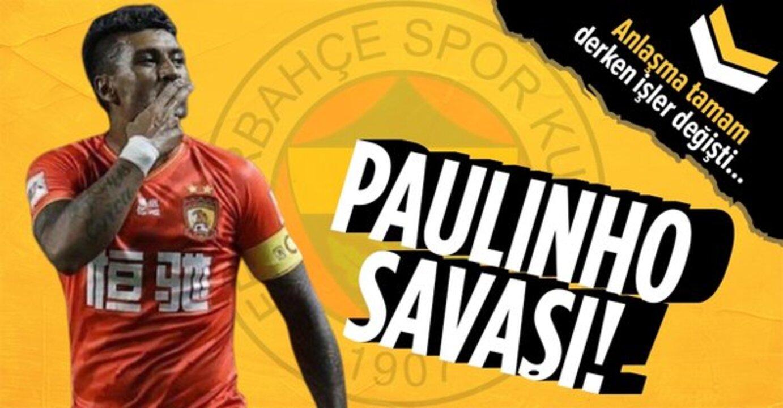 Paulinho, Fenerbahçe'nin yanı sıra Galatasaray'ı da hayal kırıklığına uğrattı!