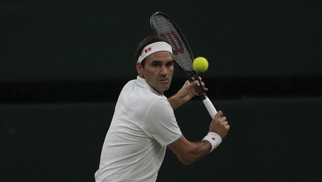 Roger Federer Winbledon'da çeyrek finale çıktı