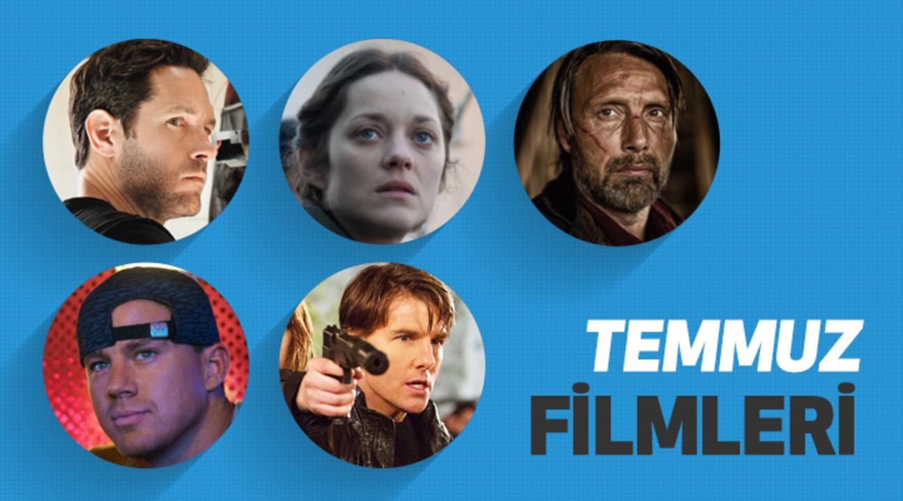 Temmuz ayında vizyona girecek filmler ve vizyon tarihleri