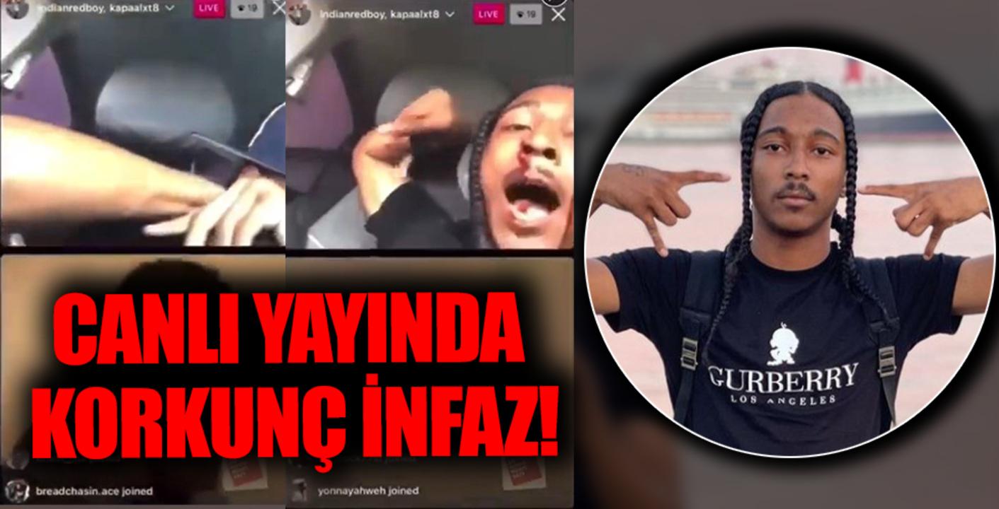 Ünlü rapçi canlı yayın sırasında başından vurularak infaz edildi!