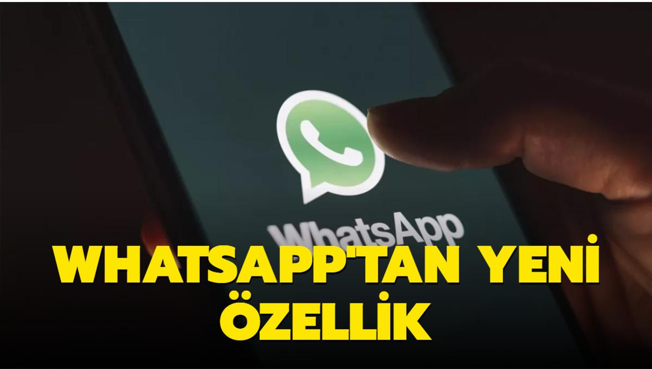 Whatsapp'a gelen yeni özellikte grup konuşmaları artık kaçırılmayacak!