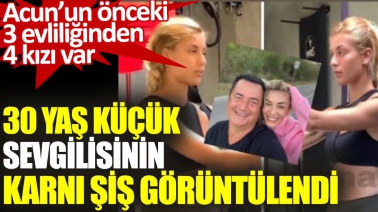 Acun Ilıcalı baba mı oluyor? Ayça Çağla Altunkaya'dan ilginç fotoğraf..
