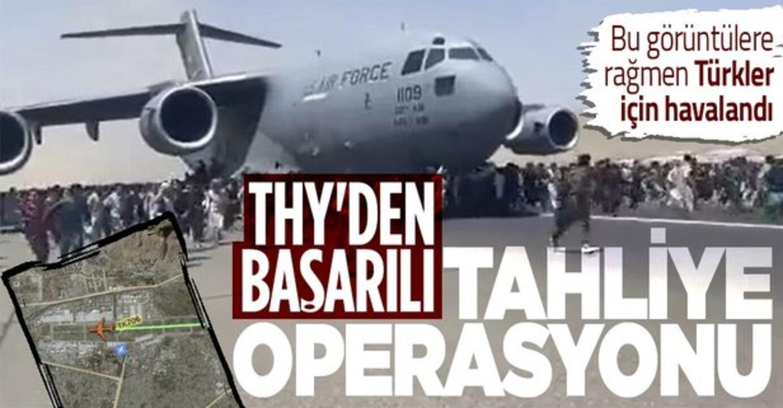 Afganistan'da yaşayan 324 Türk vatandaşı yurda giriş yaptı