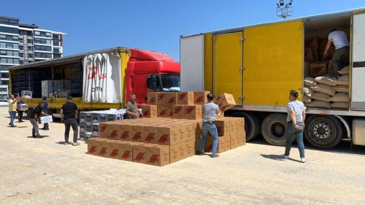 Afyonkarahisar'da 4 milyon 700 bin adet kaçak makaron ele geçirildi