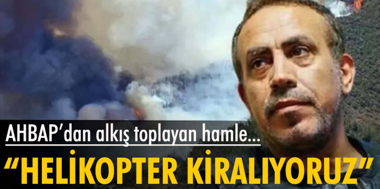 AHBAP'ın kurucusu Haluk Levent, Kazakistan'dan helikopter kiraladıklarını duyurdu!