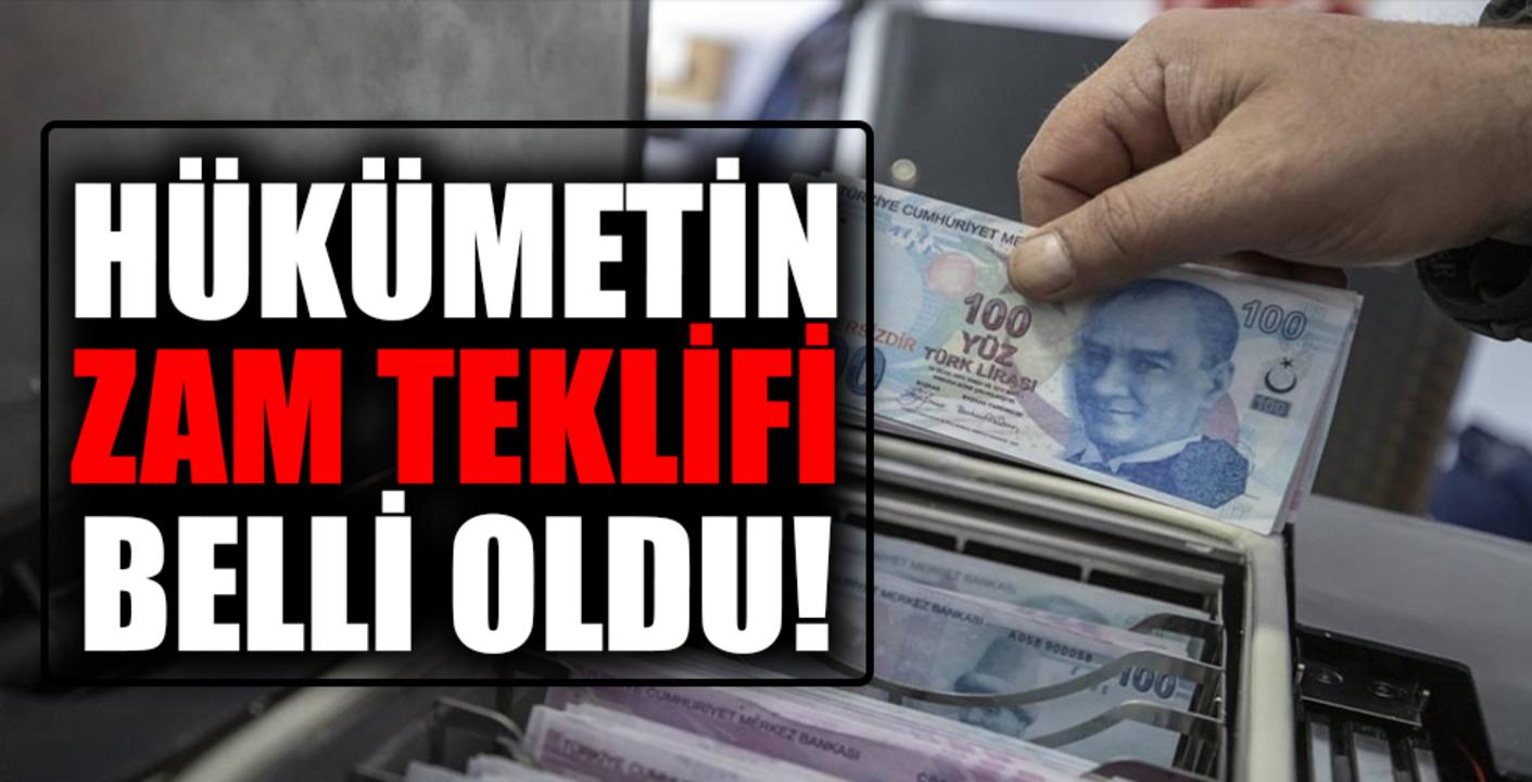 Bakan Vedat Bilgin, Hükümetin memur ve emekliler için belirlediği zam teklifini duyurdu!