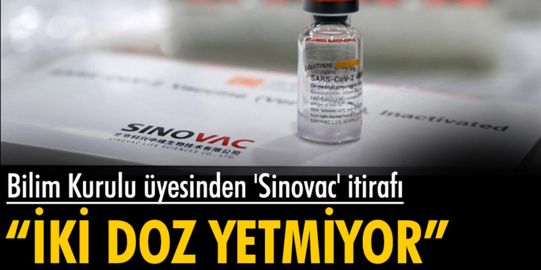 Bilim Kurulu üyesinden 3'üncü doz açıklaması: İki doz Sinovac aşısı yeterli değil!