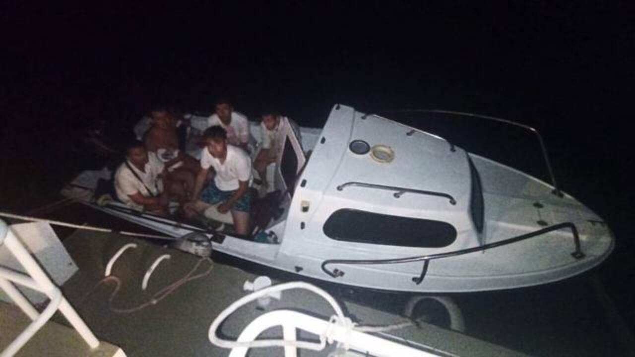 Bodrum'da tekneyle Yunanistan'a kaçma hazırlığı yapan 6 FETÖ şüphelisi yakalandı