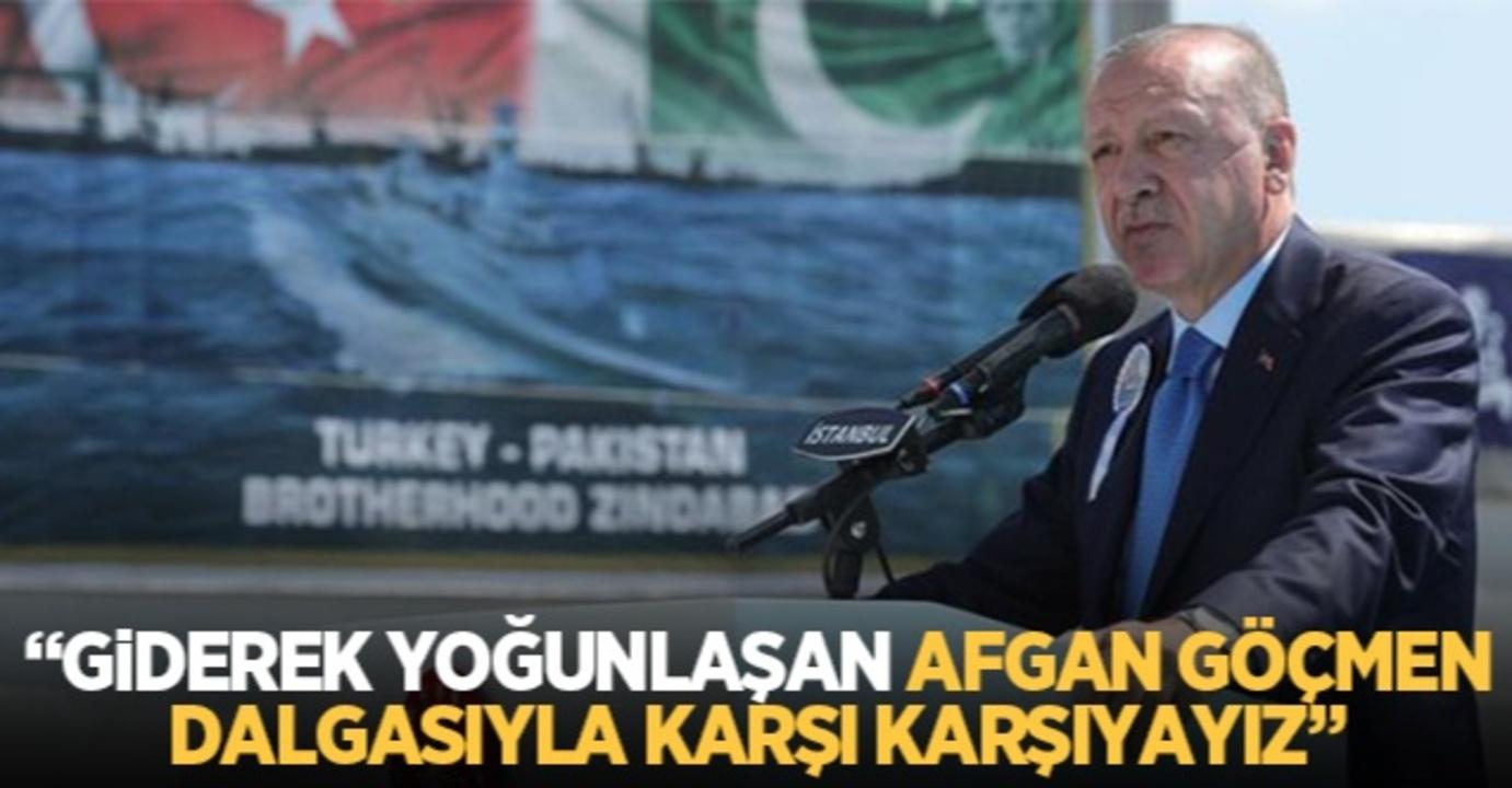 Cumhurbaşkanı Erdoğan, Afgan göçmenler hakkında net konuştu: Önlememiz gerekiyor!