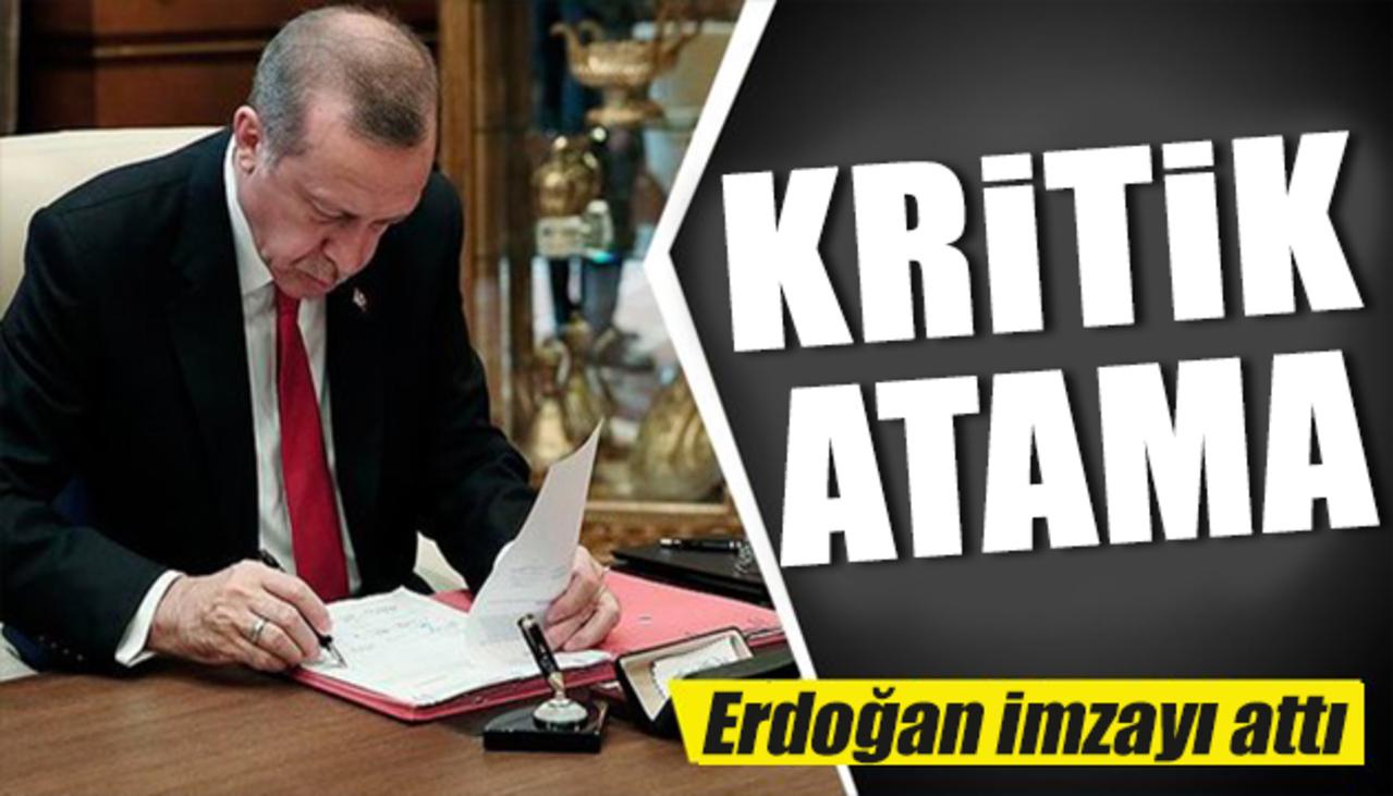 Cumhurbaşkanı Erdoğan'dan Jandarma Genel Komutanlığı'na kritik atama!