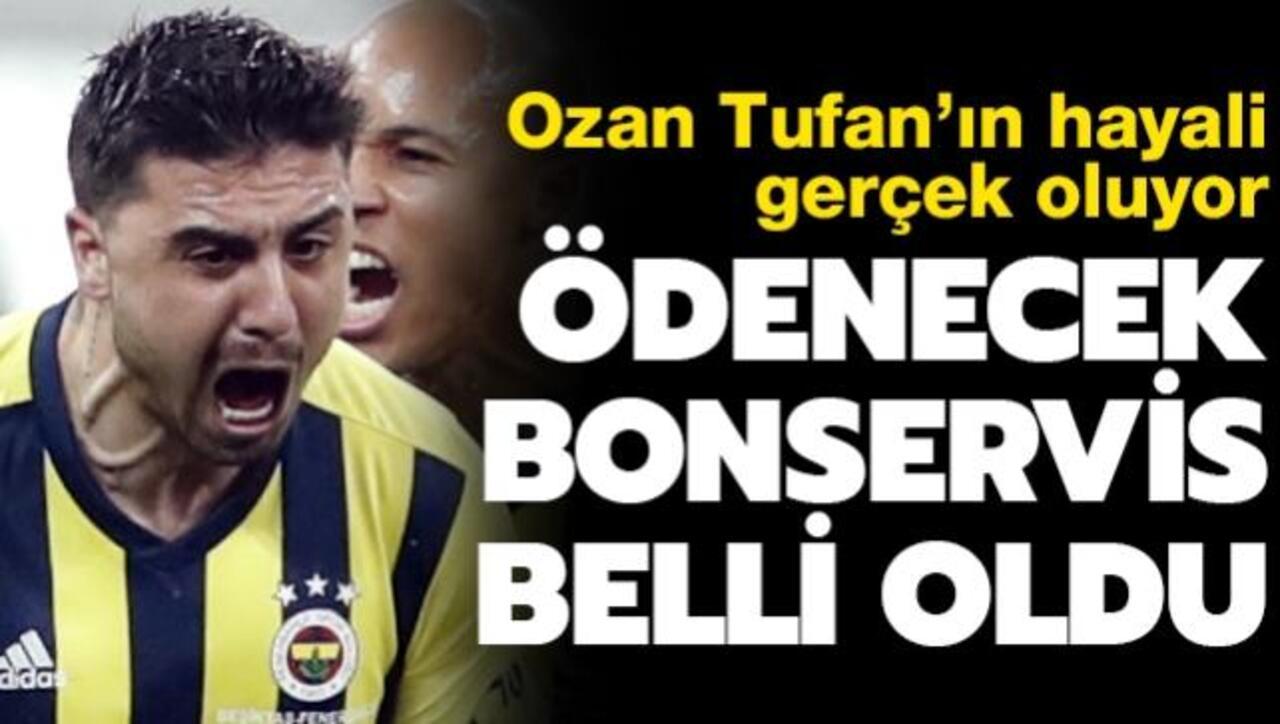 Fenerbahçe'de aradığı forma şansını bulamayan Ozan Tufan Watford ile anlaştı