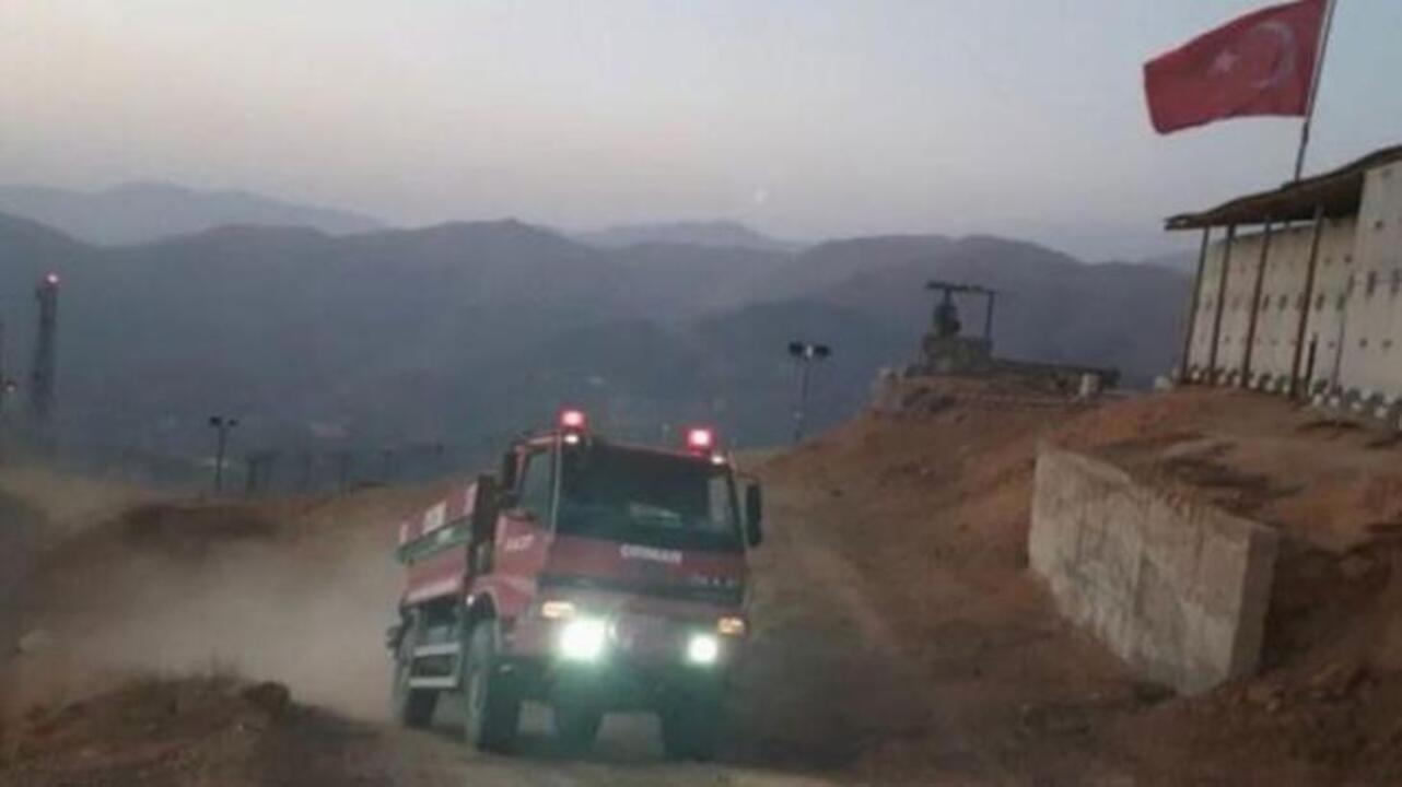 Hakkari Şemdinli'deki yangın kontrol altına alındı