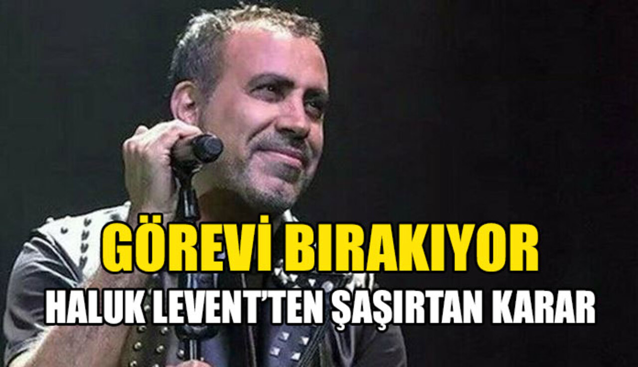 Haluk Levent'ten sevenlerini üzen haber: Yurt dışına yerleşiyorum!