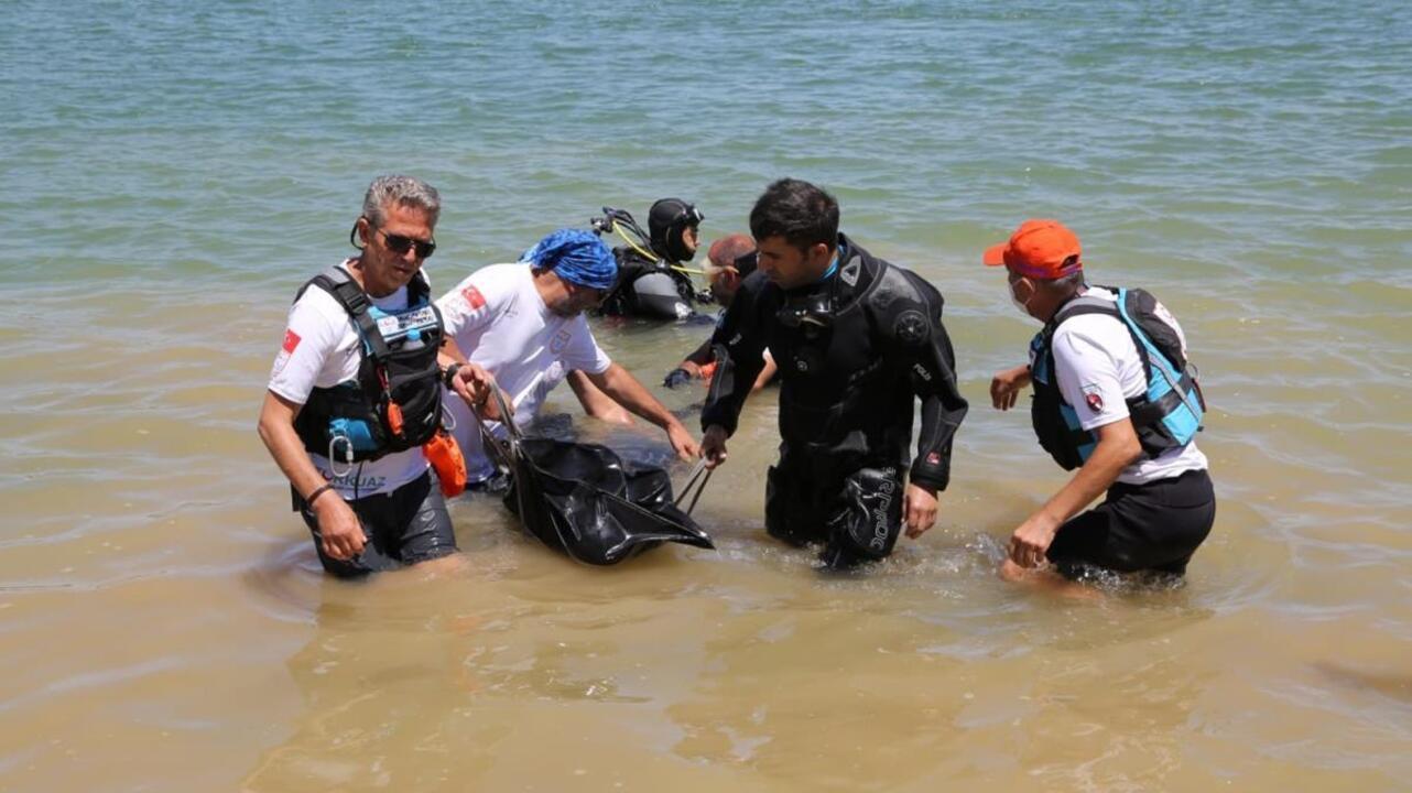 Kayseri'de baraj gölünde kaybolan üç kişinin cansız bedenlerine ulaşıldı