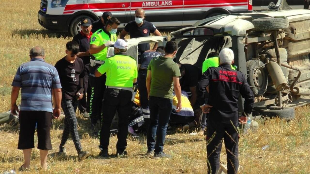 Kayseri'deki korkunç kazada ölenlerin sayısı 5'e yükseldi