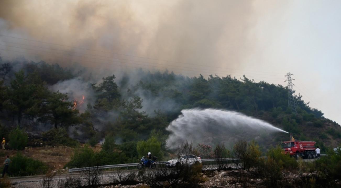 Konya'da çıkan orman yangını kontrol altına alındı
