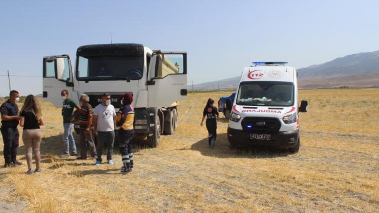 Konya'da direksiyon başında kalp krizi geçiren yaşlı adam hayatını kaybetti