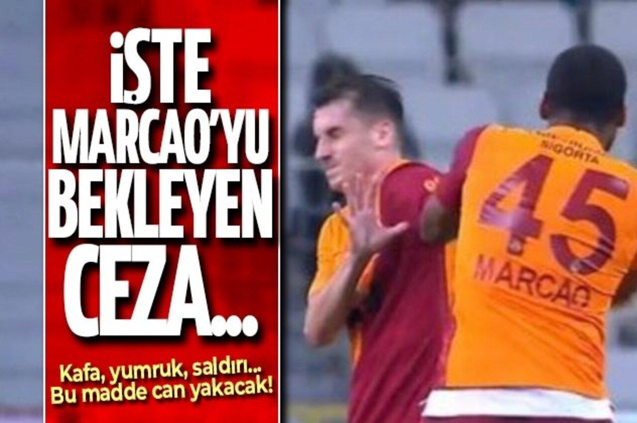 Marcao-Kerem Aktürkoğlu kavgasında Marcao kaç maç ceza alacak?