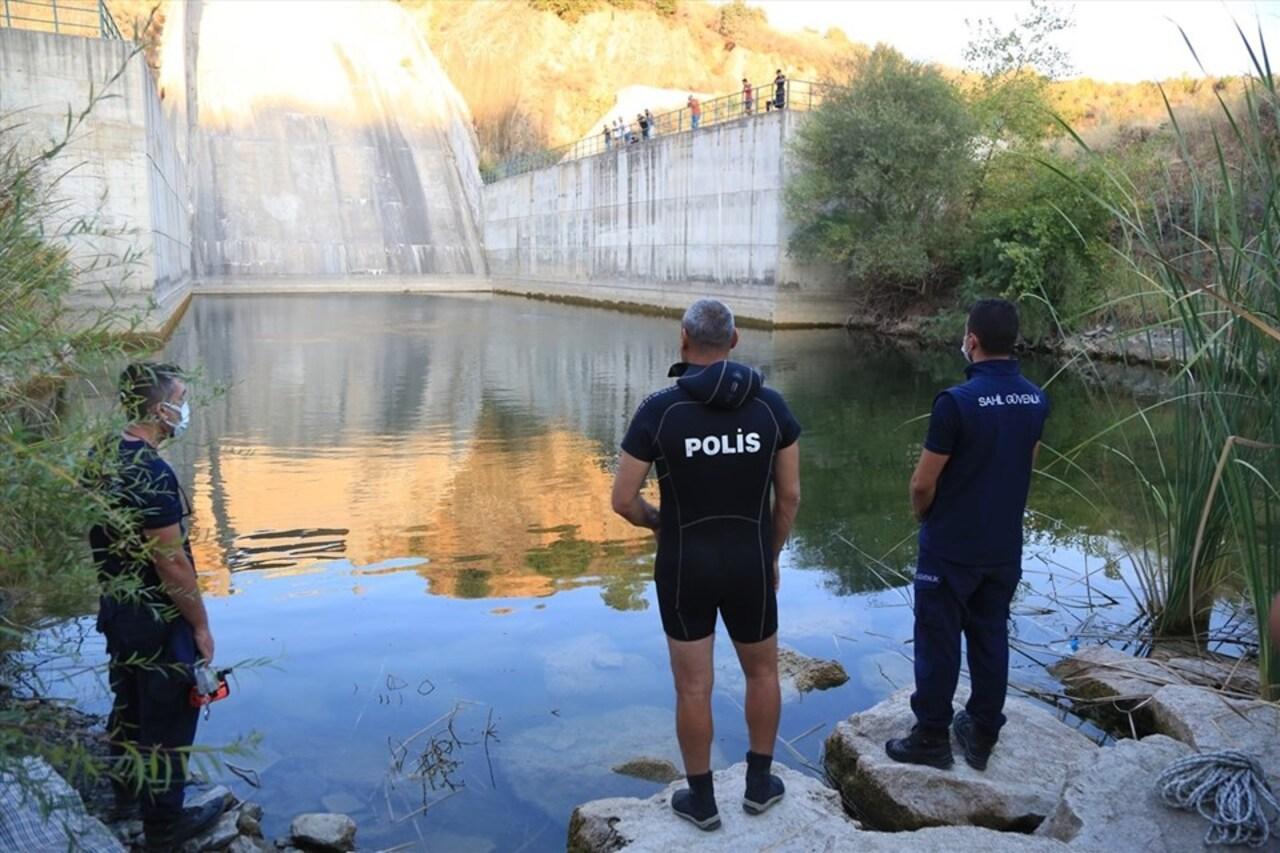 Muğla'da barajda kaybolduğu söylenen genci arama çalışmaları devam ediyor
