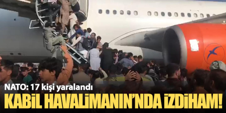 NATO, Kabil Havalimanında yaşanan izdihamda 17 kişinin yaralandığını açıkladı!