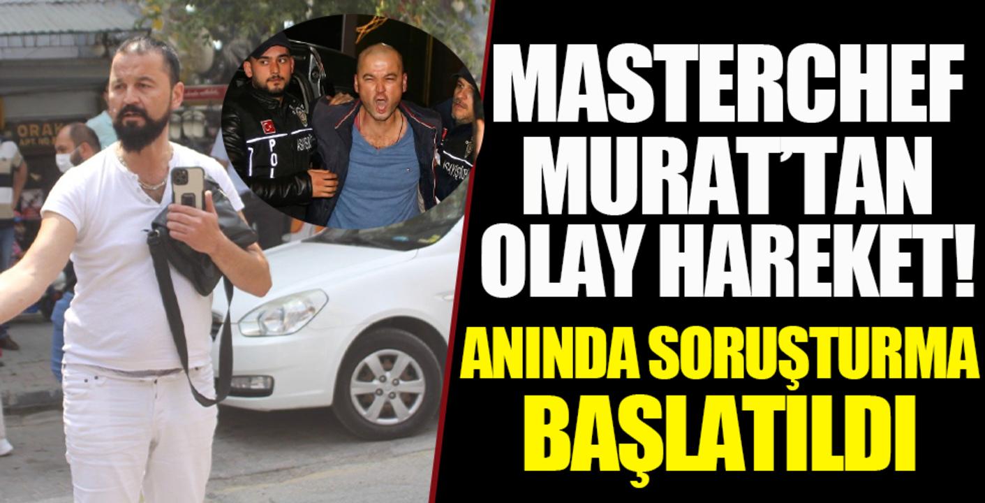Polislere rüşvet teklif eden MasterChef Murat Özdemir, gözaltına alındı!
