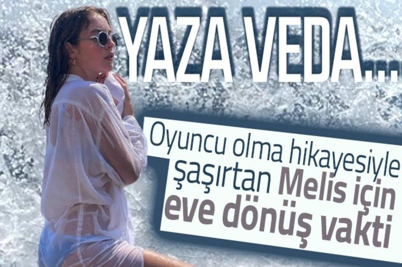 Sadakatsizin Derin'i Melis Sezen'den yaza ıslak veda!