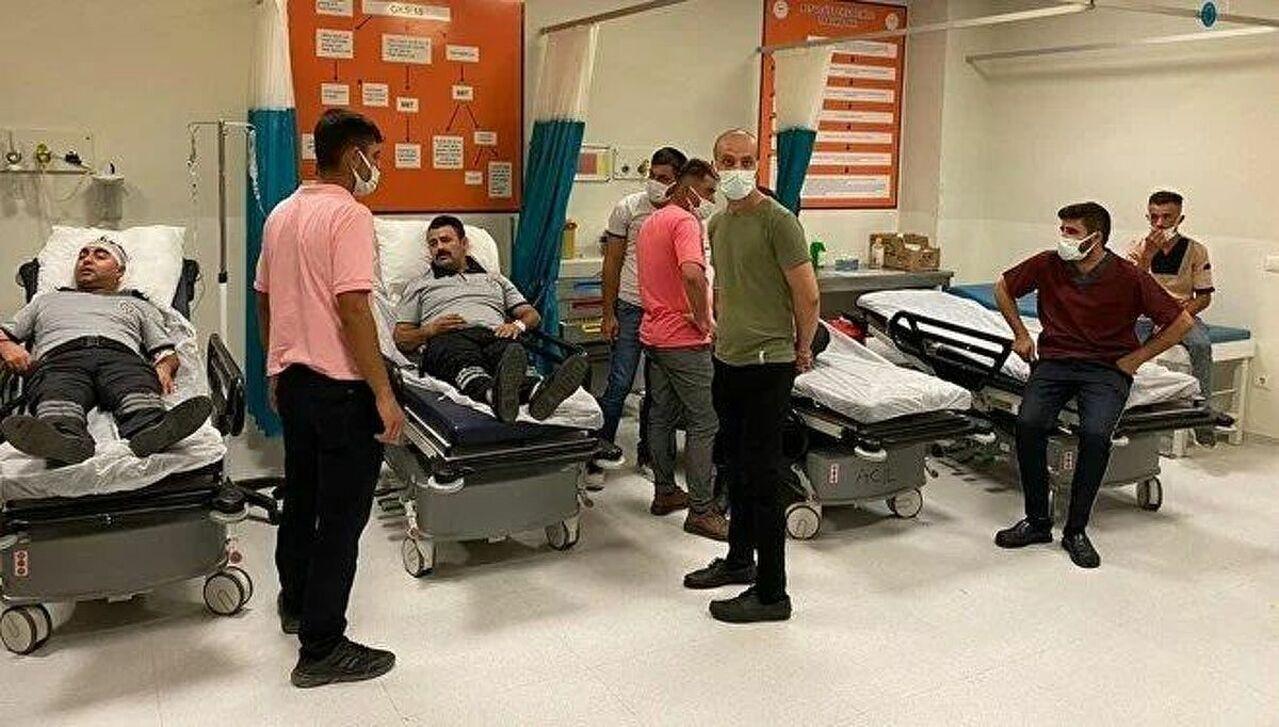 Şanlıurfa'da hastane çalışanlarını darp eden 5 kişi tutuklandı