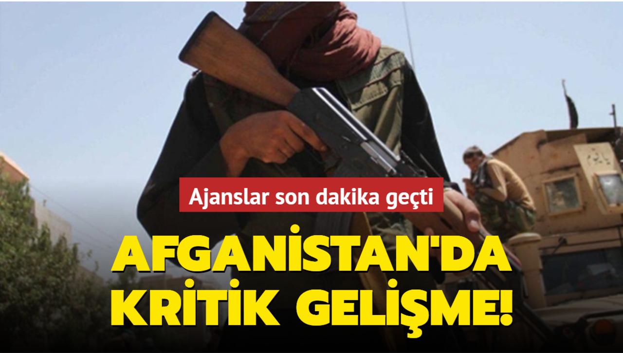 Taliban, Afganistan'da kolordu komutanlığını ele geçirdi!