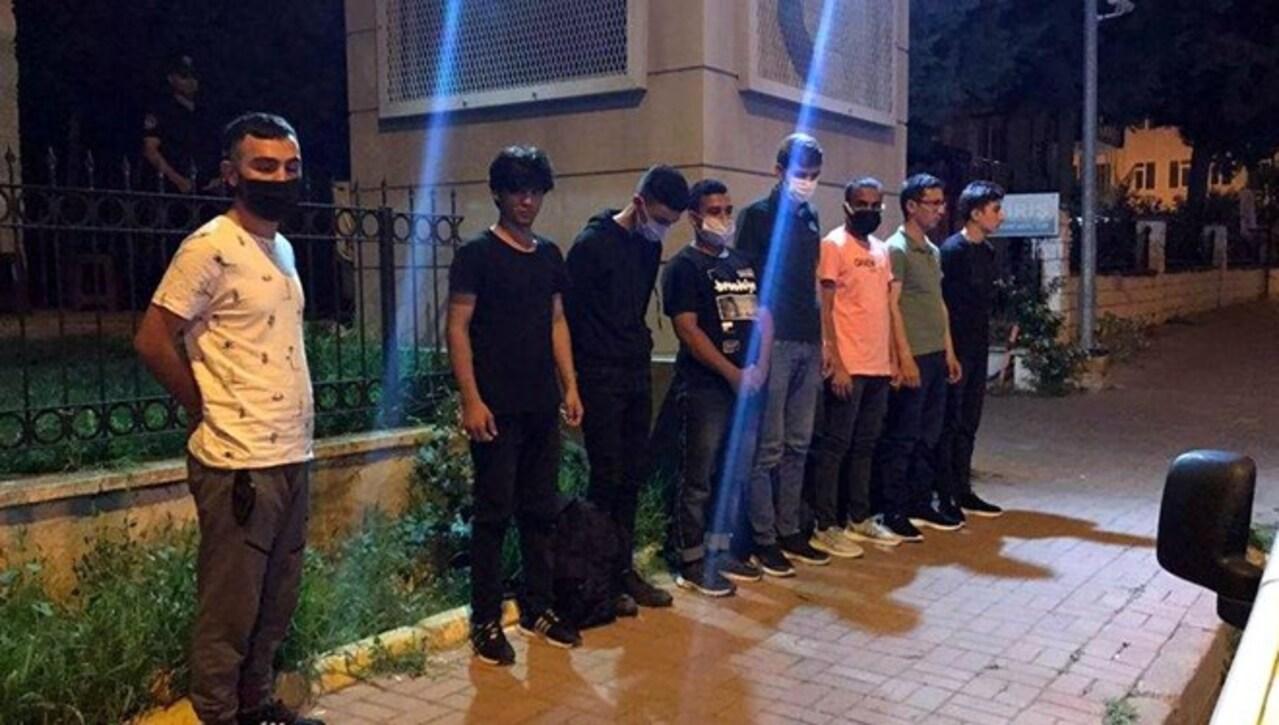 Tekirdağ'da Bangladeş ve Pakistan uyruklu 7 kaçak göçmen yakalandı