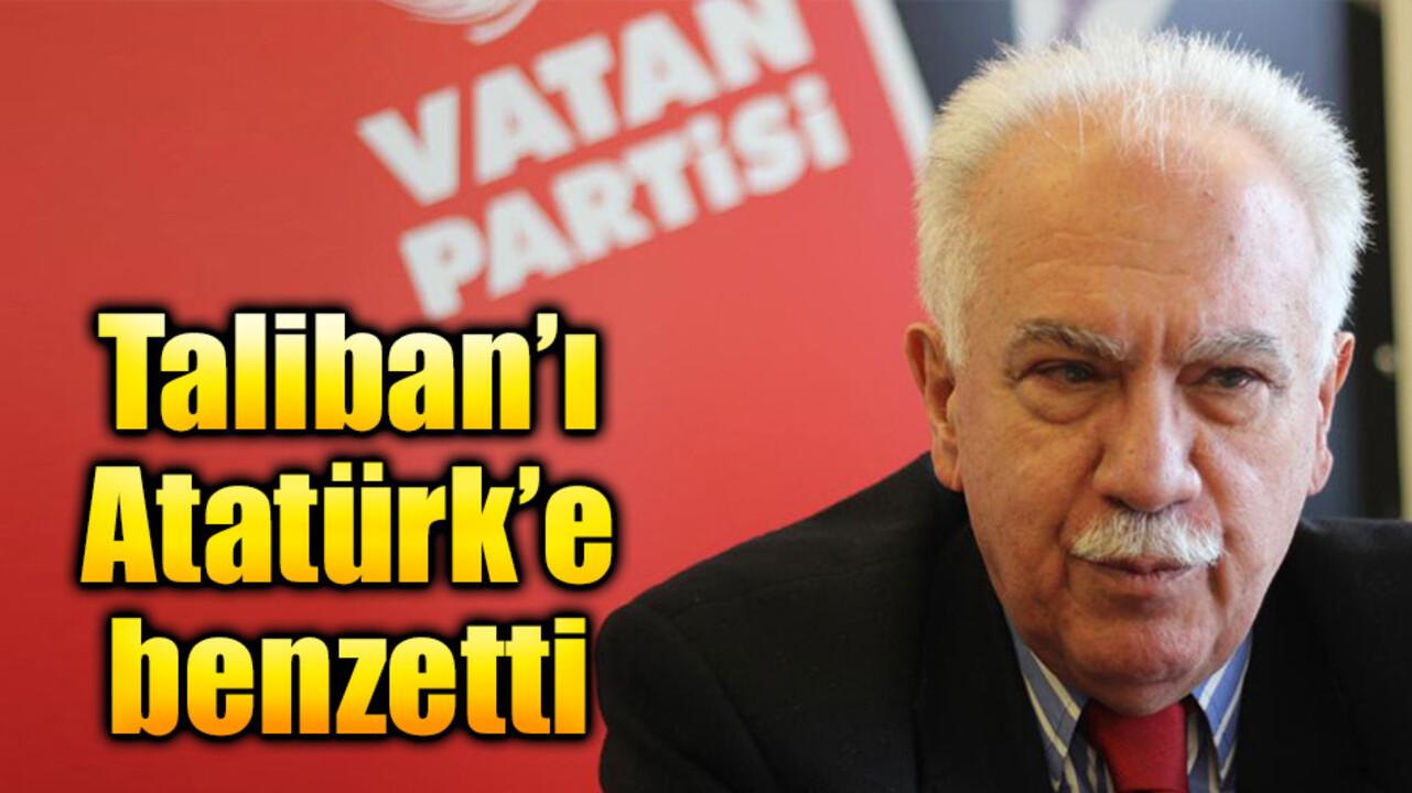 Vatan Partisi lideri Perinçek'ten Atatürk'e Taliban benzetmesi!