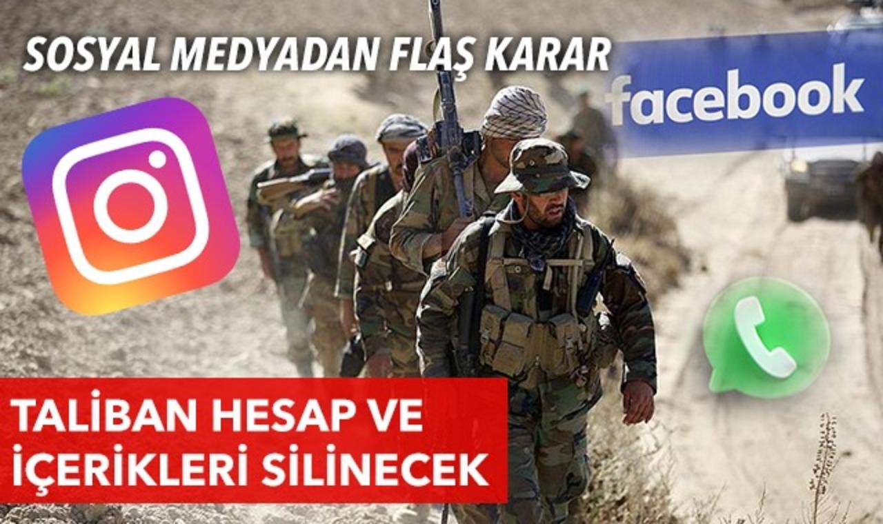 WhatsApp, Taliban içeriklerini yasakladıklarını duyurdu!