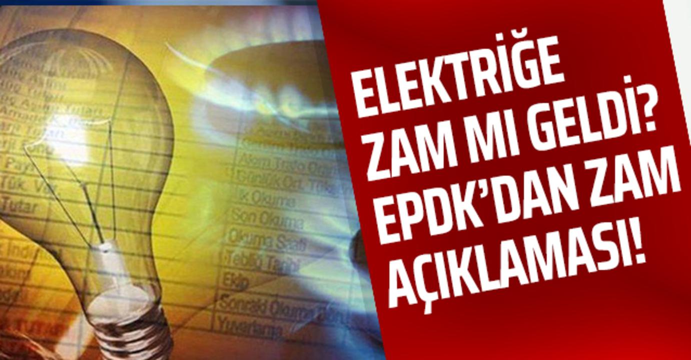Yüksek gelen elektrik faturaları hakkında EPDK'dan açıklama!