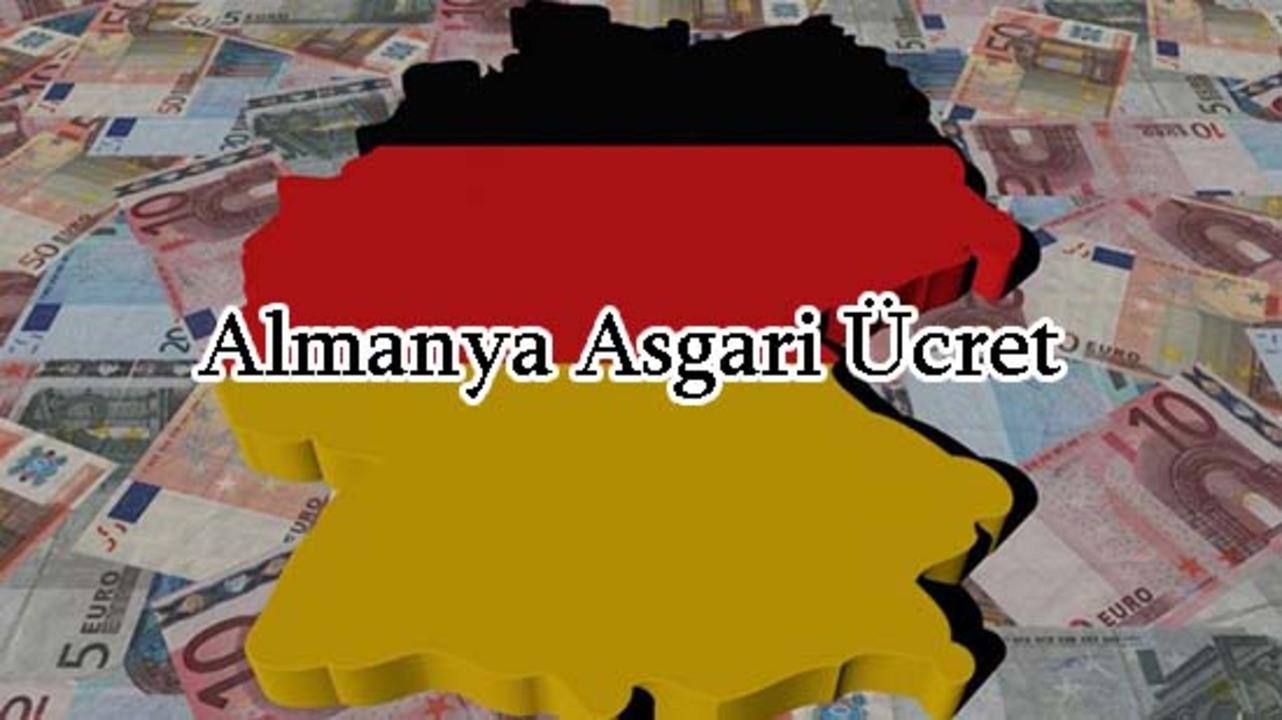 2022 senesinde Almanya'da asgari ücretler ne kadar olacak?