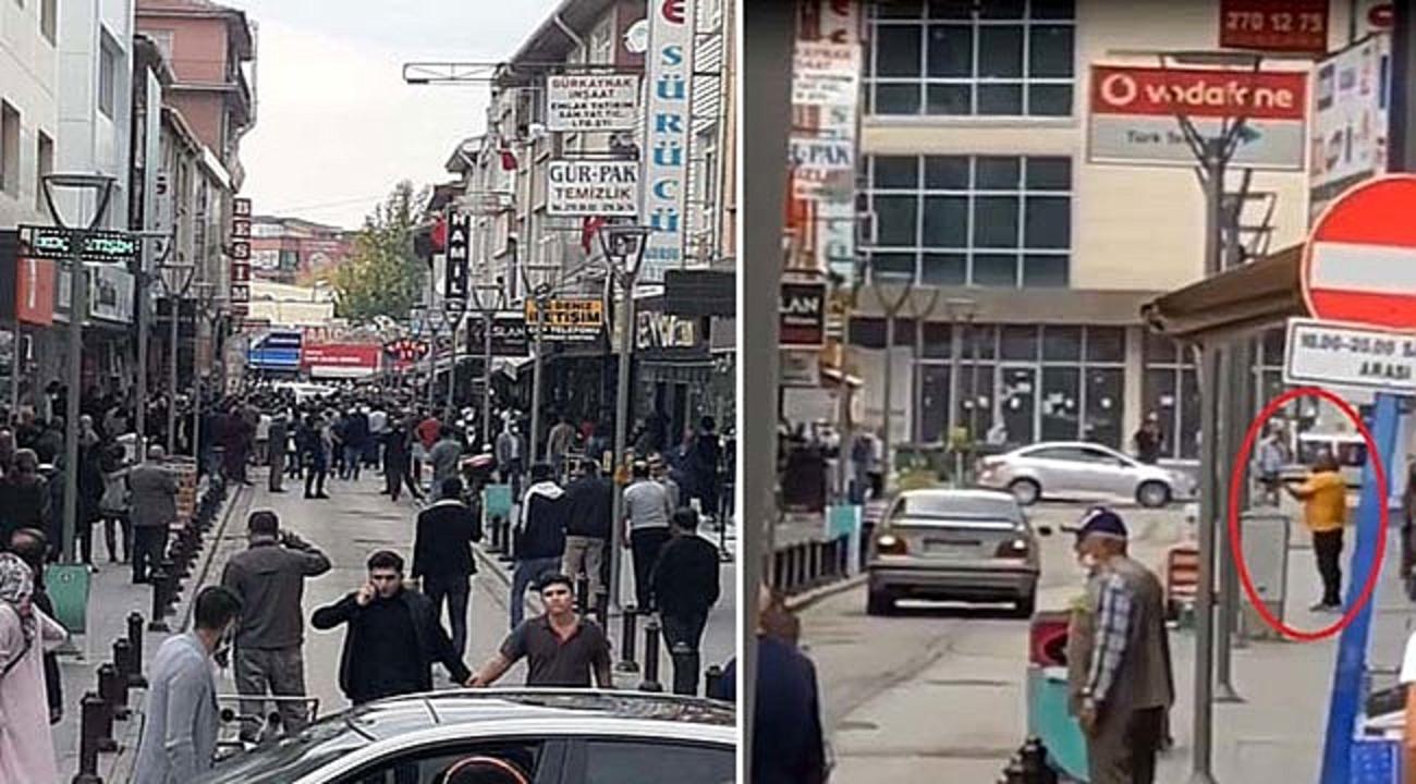 Ankara'da eşinin kendisini aldattığını düşünen bir kişi pompalı tüfekle restorana ateş açtı