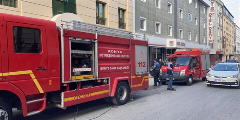 Asansöre bakım yapan 2 kişi kaza sonucu can verdi