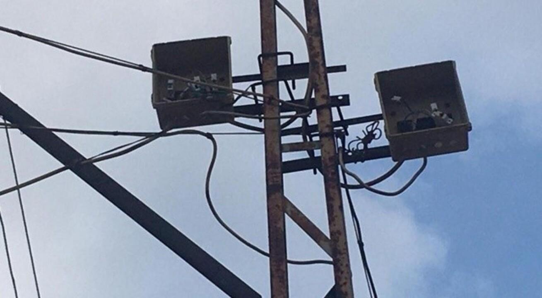 Çıktığı elektrik direği sonu oldu
