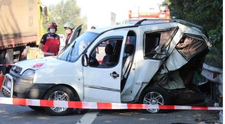 Sakarya'da kaza! 1 ölü, 3 yaralı var