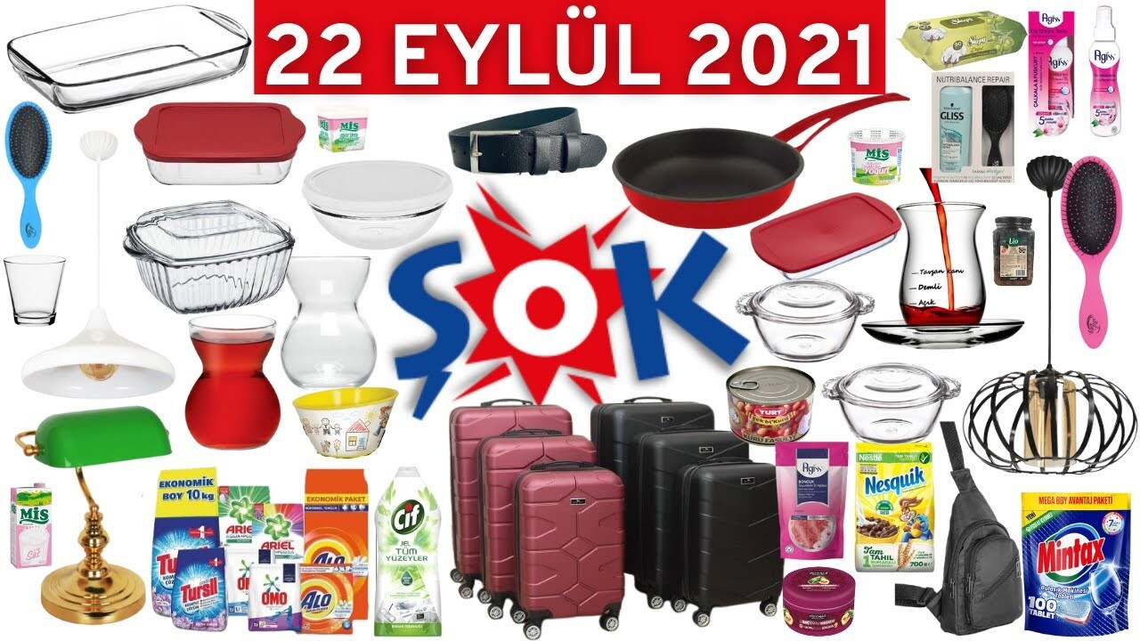 Şok 22 Eylül 2021 aktüel ürünler kataloğu açıklandı!