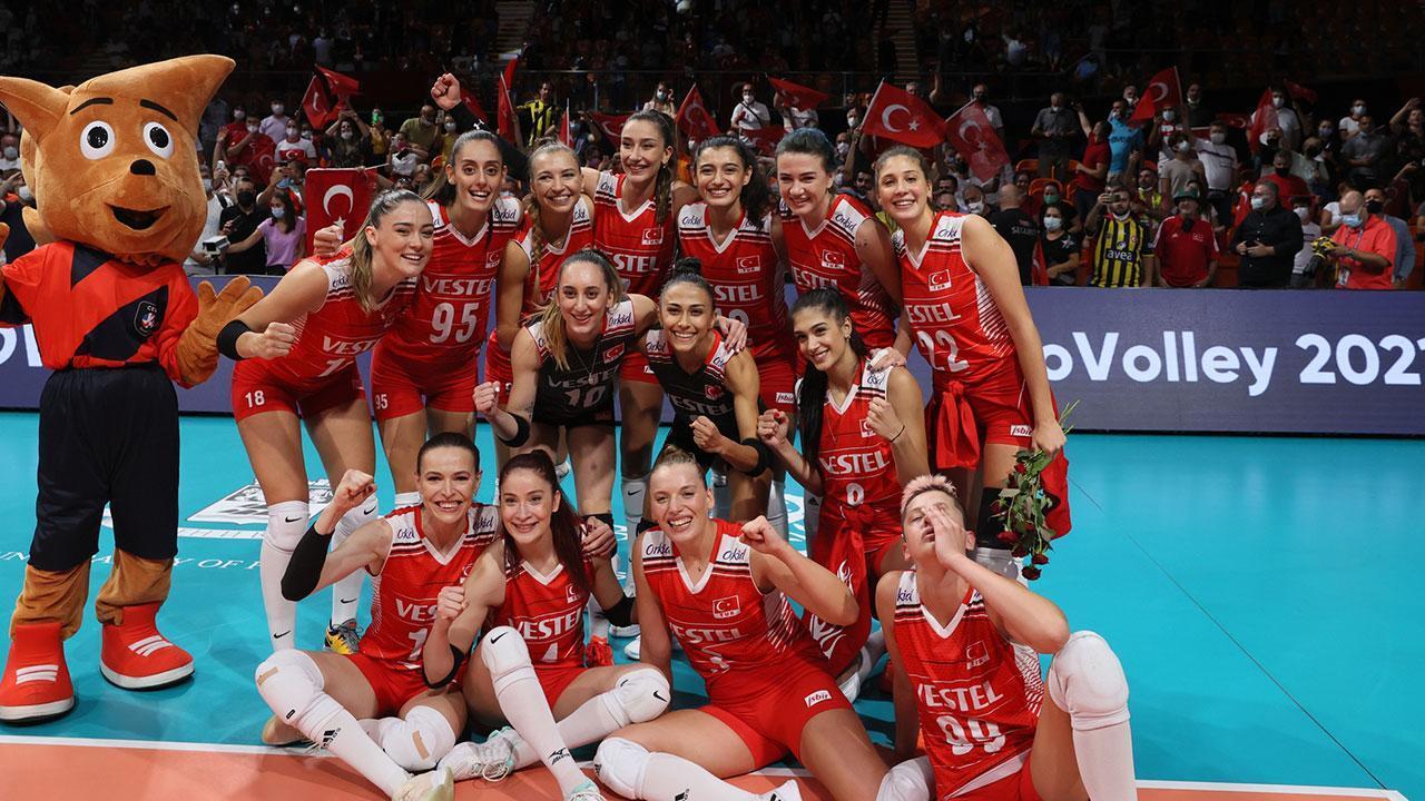 Türkiye yarı final maçında Sırbistan ile karşı karşıya