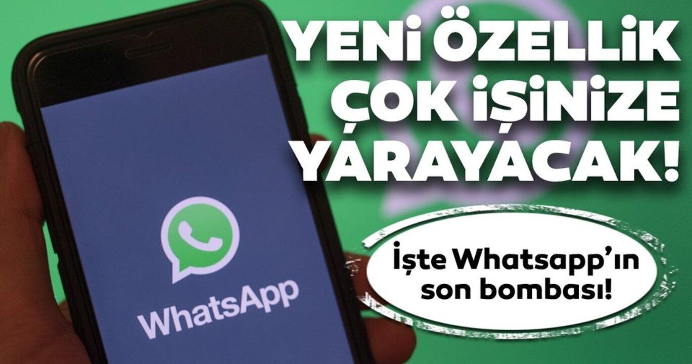 WhatsApp'tan bir yenilik daha! Mesajlara emoji tepkileri geliyor..