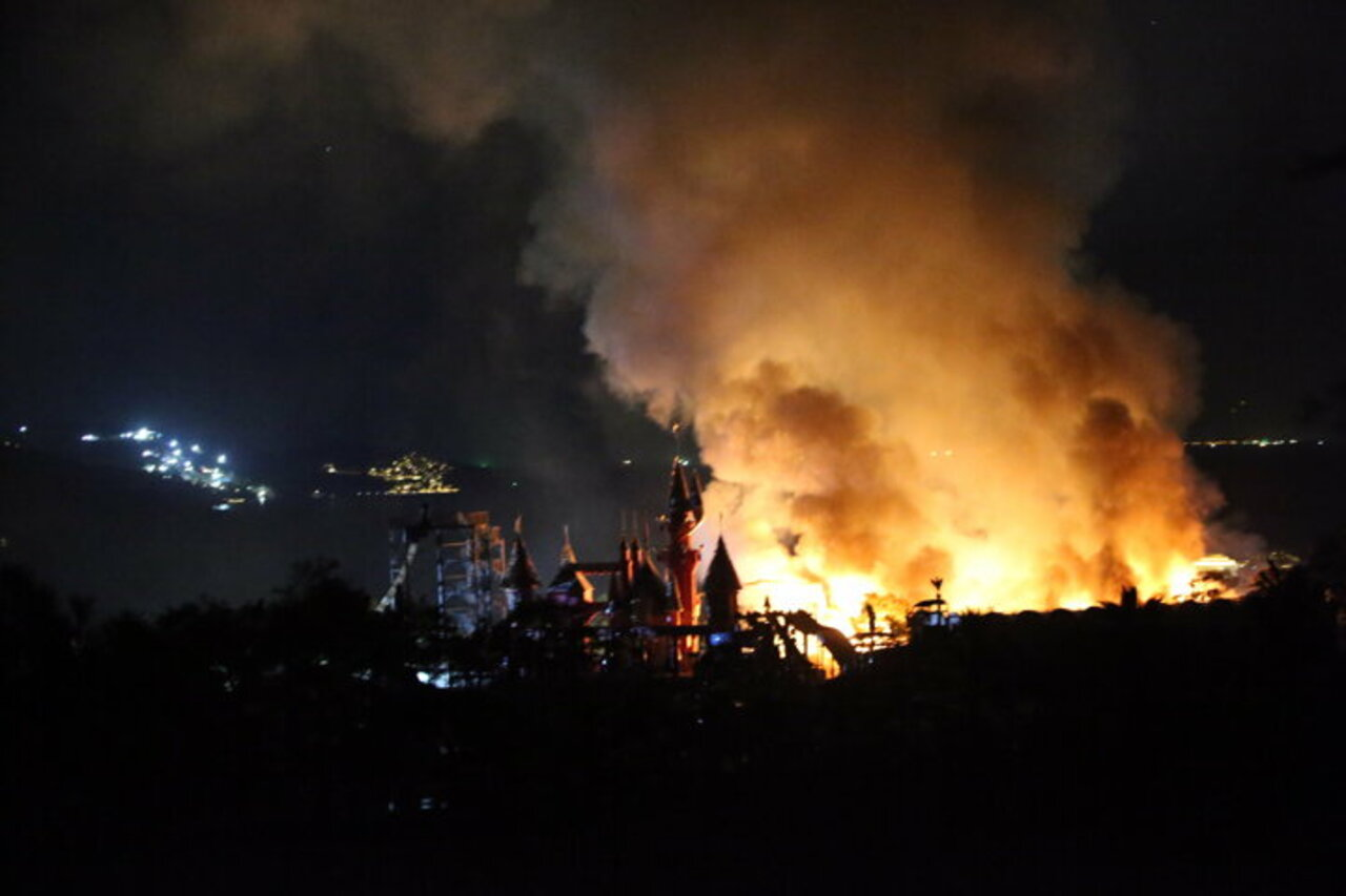 Bodrum'da beş yıldızlı otelin yakıt tankı patladı