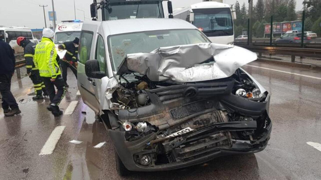 İzmit'te zincirleme kaza