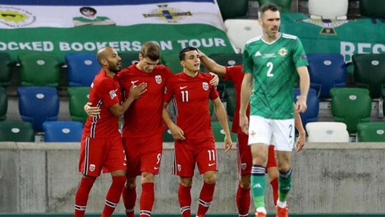 Omar Elabdellaoui, Norveç milli takımını ziyaret etti
