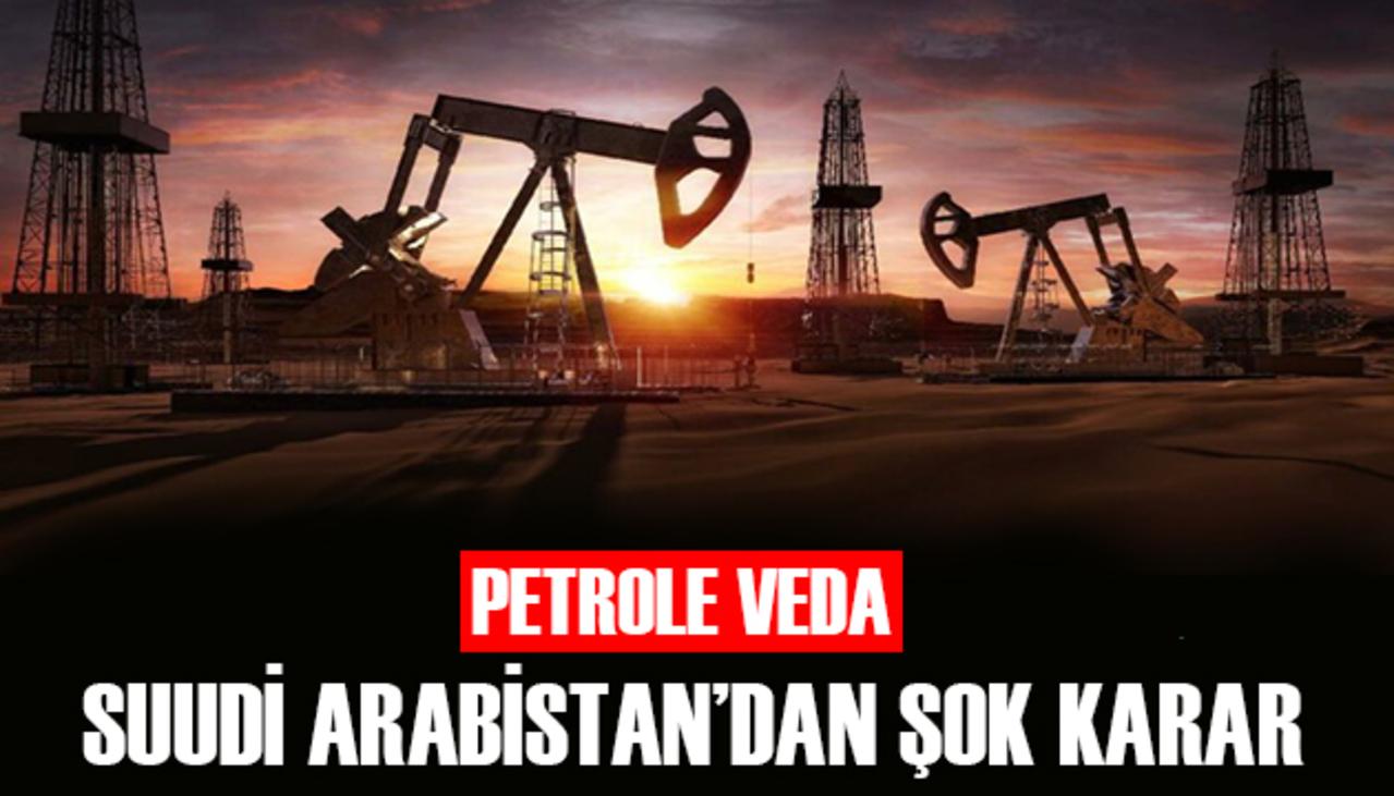 Sıfır emisyon hedefi koyan Suudi Arabistan'dan petrol kararı!