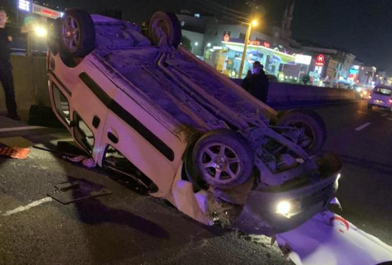 Yalova'da otomobil devrildi: 1 yaralı