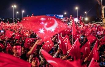 15 Temmuz Demokrasi ve Milli Birlik Günü dolayısıyla Cumhurbaşkanlığı tarafından dünyanın dört bir tarafında anma etkinlikleri düzenlendi
