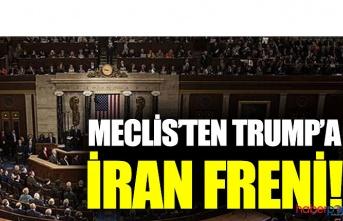 ABD Başkanı Trump'a İran'a yönelik müdahalede kongre engeli