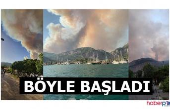 Bakan açıkladı; Dalaman'daki yangın kontrol altında! Yangının çıkış nedenini 20 kişilik özel ekip inceleyecek